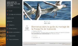 Annuaire mariage Pays de La Loire