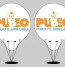 Les ballons publicitaires d'hélium pour votre visibilité